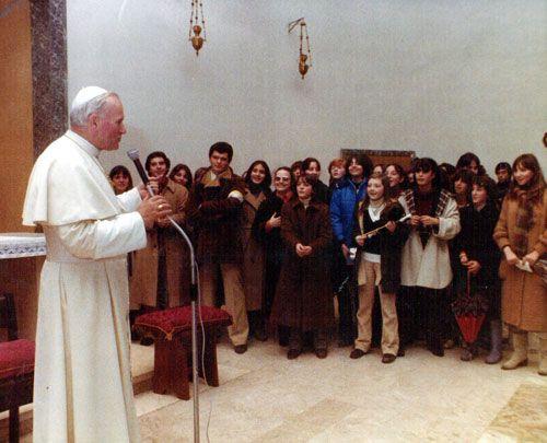 40° anniversario visita pastorale Giovanni Paolo II