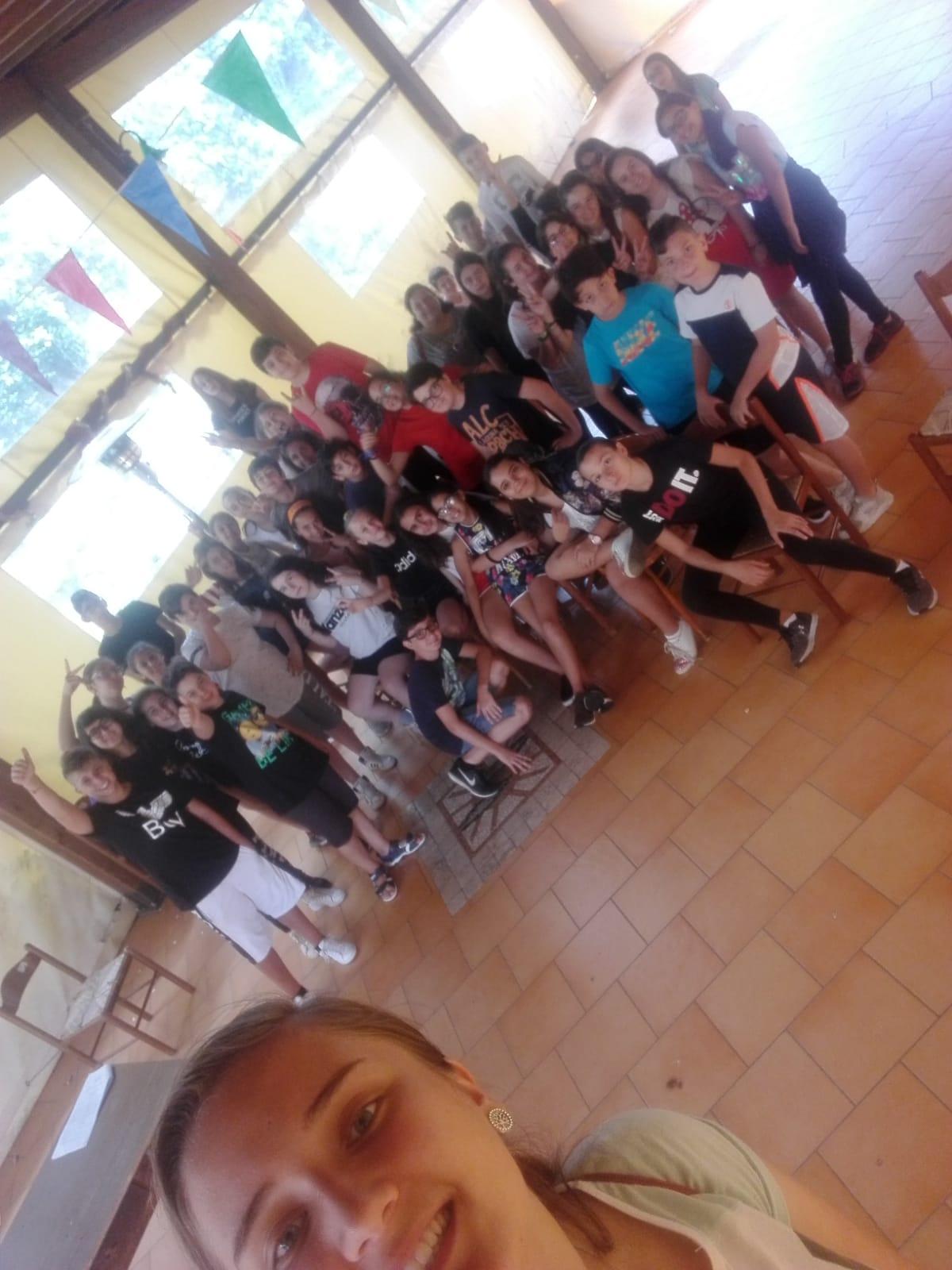 Campo cresime 2018 -convento frati cappuccini Fiuggi